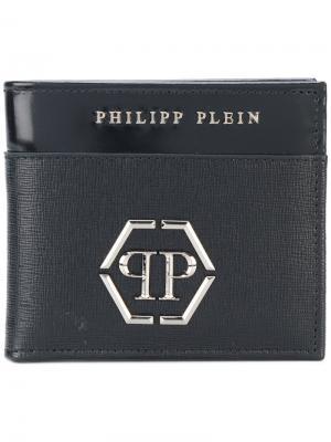 Кошелек Go Philipp Plein. Цвет: чёрный