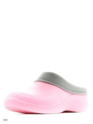 Галоши ANRA. Цвет: бледно-розовый