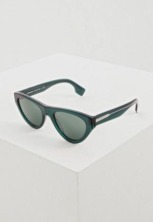 Очки солнцезащитные Burberry BE4285 379571. Цвет: зеленый