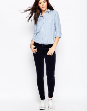 Темно-синие зауженные джинсы Genetic Shya Denim
