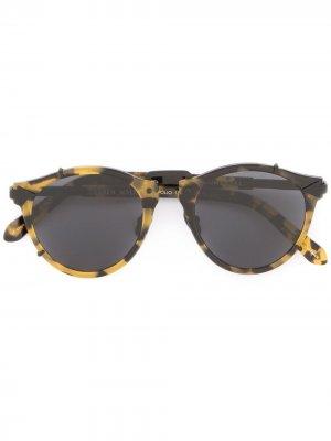 Солнцезащитные очки Apollo Karen Walker. Цвет: желтый