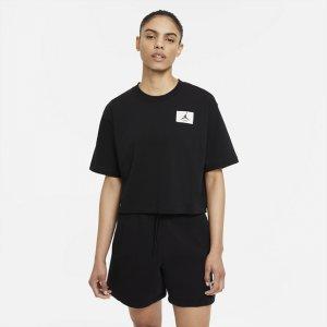 Женская футболка оверсайз Jordan Essentials - Черный Nike