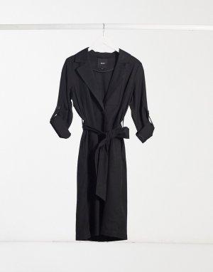 Легкая клетчатая куртка в стиле тренча Annabelle-Мульти Object