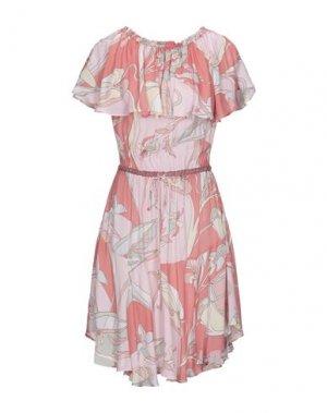 Платье до колена HALE BOB. Цвет: коралловый