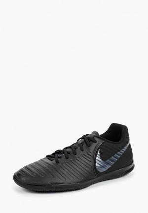 Бутсы зальные Nike TiempoX Legend VII Club IC. Цвет: черный