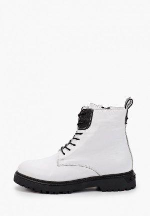 Ботинки Alterego. Цвет: белый