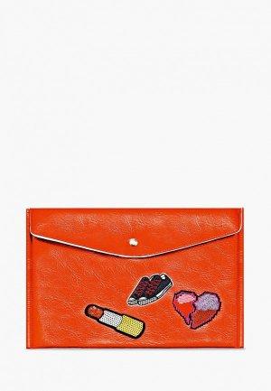 Папка Феникс+. Цвет: оранжевый
