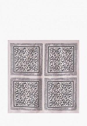 Платок Fiona Fantozzi 70х70 см. Цвет: серый
