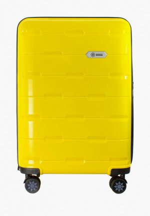 Чемодан Proffi travel Tour Fashion, M. Цвет: желтый