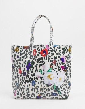 Большая сумка с логотипом -Мульти Ted Baker