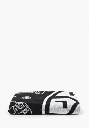 Полотенце Atributika & Club™ КХЛ. Цвет: черный