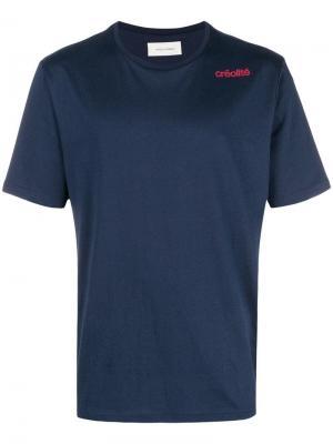 Однотонная классическая футболка Wales Bonner