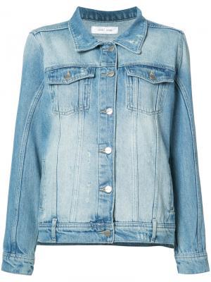 Винтажная джинсовая куртка Anine Bing. Цвет: синий