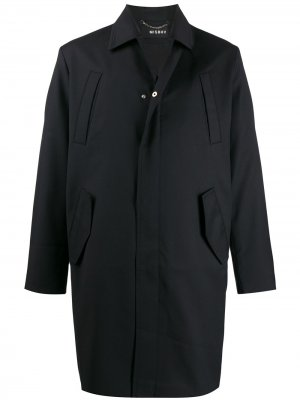 Пальто с принтом Misbhv. Цвет: черный