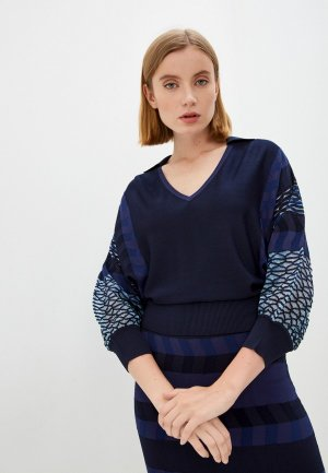 Пуловер Diane von Furstenberg. Цвет: фиолетовый