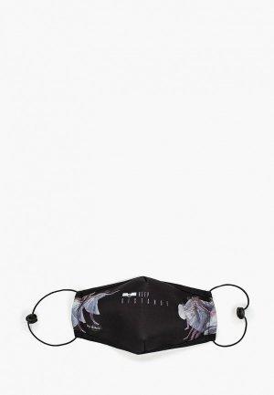 Маска для лица с фильтрующим элементом Routemark и перчатками, Пушкинский музей – Танцовщицы. Цвет: черный
