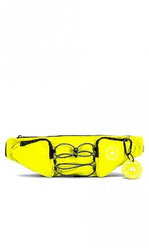 Поясная сумка asmc adidas by Stella McCartney. Цвет: желтый