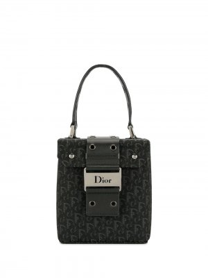 Косметичка Street Chic с узором Trotter Christian Dior. Цвет: черный