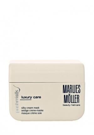 Маска для волос Marlies Moller Pashmisilk шелковая 125 мл. Цвет: белый