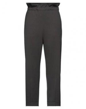 Повседневные брюки HACHE. Цвет: свинцово-серый