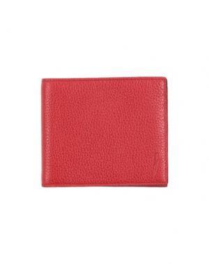 Бумажник NEIL BARRETT. Цвет: красный