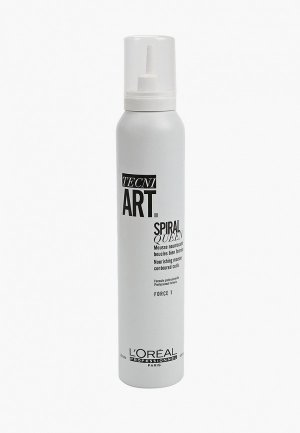 Мусс для волос LOreal Professionnel L'Oreal Tecni.Art Spiral Queen контурирования кудрей. Цвет: прозрачный