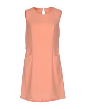 Короткое платье AXARA PARIS. Цвет: лососево-розовый