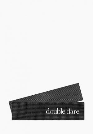 Заколка Double Dare JetCro для фиксации волос во время косметических процедур, 2 шт. Цвет: черный
