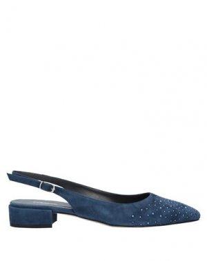 Туфли CALPIERRE. Цвет: синий