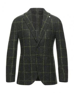 Пиджак L.B.M. 1911. Цвет: темно-зеленый