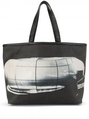 Сумка-тоут Karl Lagerfeld Le Mobile Art Chanel Pre-Owned. Цвет: черный