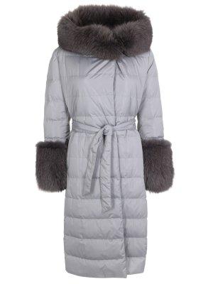 Куртка с мехом лисы BILANCIONI