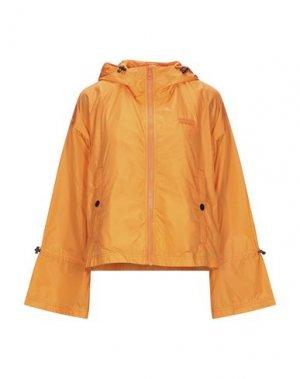 Куртка DUVETICA. Цвет: оранжевый