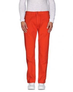 Повседневные брюки GARBSTORE. Цвет: оранжевый