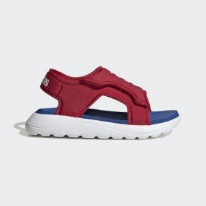 Сандалии Comfort Performance adidas. Цвет: белый