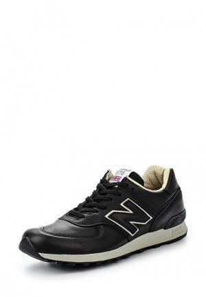 Кроссовки New Balance M576 (UK) LEATHER PACK. Цвет: черный
