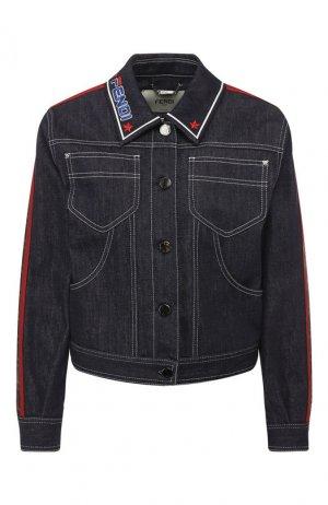 Джинсовая куртка Fendi. Цвет: синий