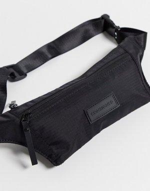 Сумка-кошелек через плечо -Черный Consigned