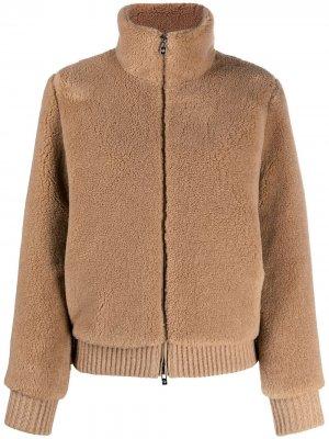 Куртка-бомбер Teddy Loro Piana. Цвет: нейтральные цвета