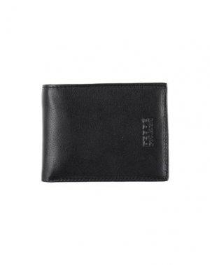 Бумажник FERRE' COLLEZIONI. Цвет: черный