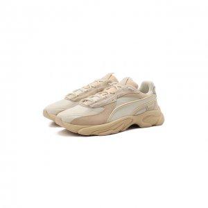 Комбинированные кроссовки RS-Connect Mono Trainers Puma. Цвет: бежевый