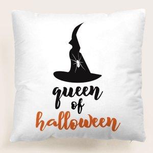 На хэллоуин Шапка принтом Чехол для подушки без наполнителя SHEIN. Цвет: многоцветный