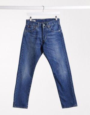 Прямые джинсы до щиколотки Levis 501 93-Синий Levi's