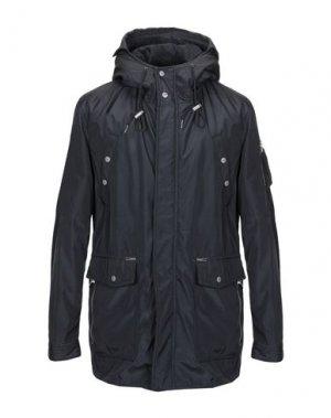 Пальто KHUJO. Цвет: черный