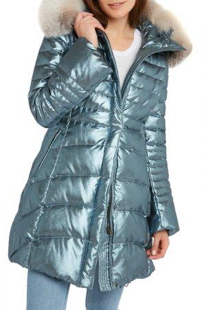 Down jacket Giorgio. Цвет: blue