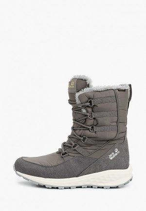 Дутики Jack Wolfskin NEVADA TEXAPORE HIGH W. Цвет: серый