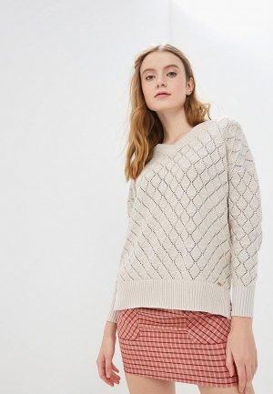 Пуловер Conso Wear. Цвет: бежевый