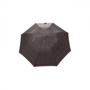 Складной зонт Pasotti Ombrelli. Цвет: серый