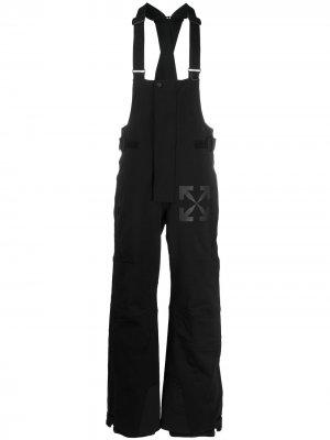 Лыжные брюки Off-White. Цвет: черный