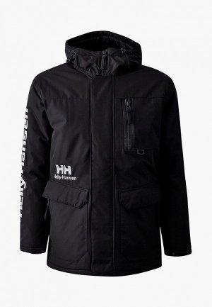 Куртка утепленная Helly Hansen YU WINTER PARKA. Цвет: черный